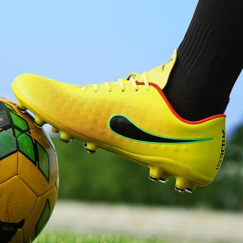 4f093591 Мужские шипованные кросовки для футбола футбольные бутсы высокого качества  дешевые оригинальные жесткие кроссовки футбольные тренеры сап