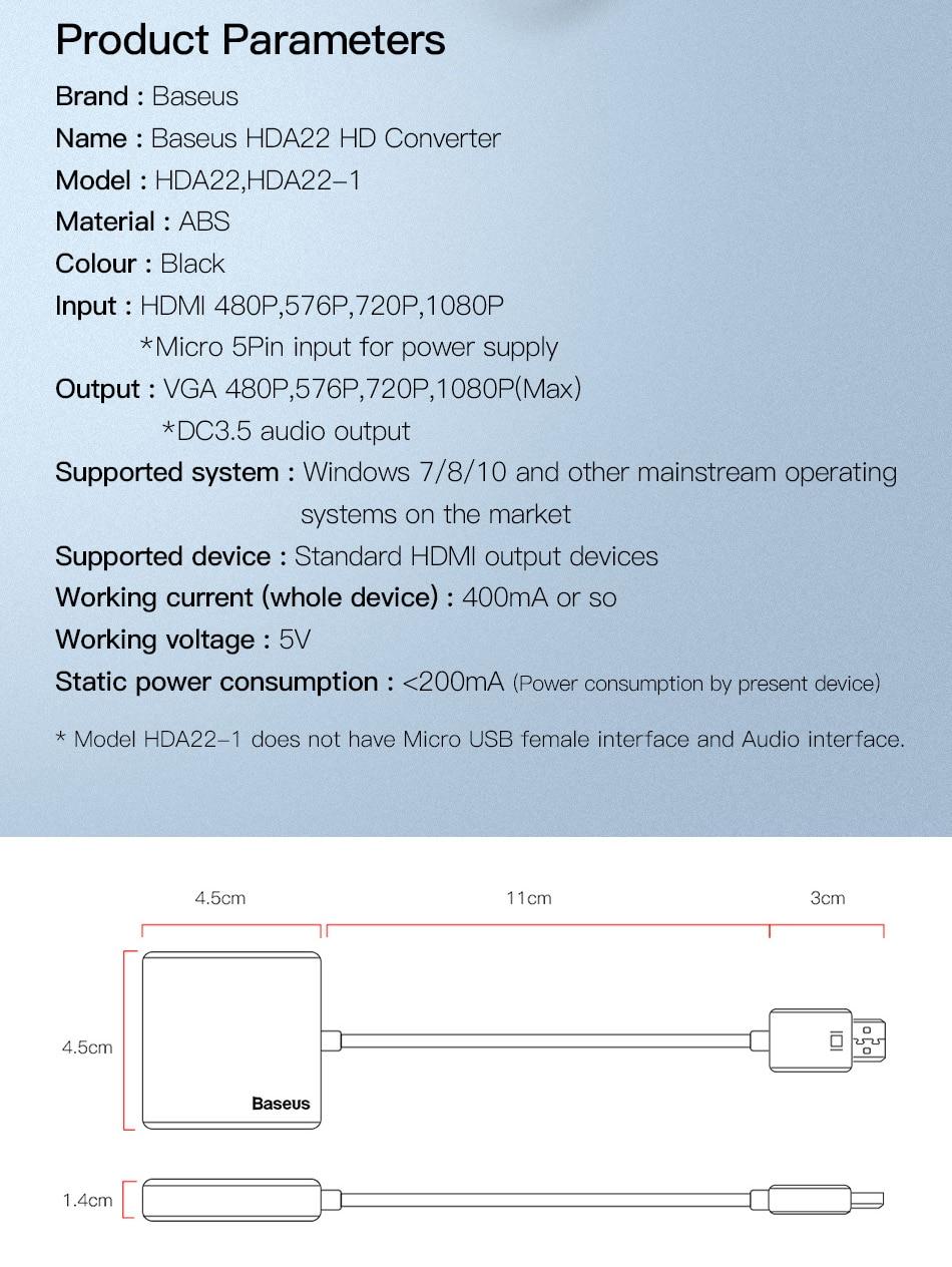 HTB1hZXfJuSSBuNjy0Flq6zBpVXaq Baseus HDMI to VGA Cable HDMI VGA Adapter Digital HDMI to VGA Jack 3.5 mm Converter Video Aux Audio Splitter For Laptop PS4 TV