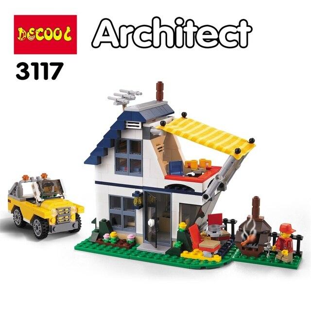 3in1 Vacation Getaways City Building Block Kit 4
