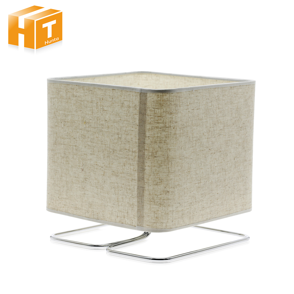 Art Decor Table Lamp Modern Creative Cloth Fabric 220V Desk Lamps 5W E27 LED Bulb Bedside Night Light Home Hotel Lighting цены