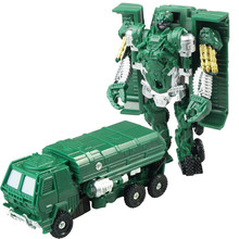 Transformation Mini Robot Car Toys For Children Action & Toy Figures Plastic Education Deformation Boys Gifts 6pcs lot make up to menasor classic toys for boys car action figures g2 color without retail box