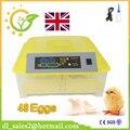 1 Шт. Низкая Цена Полностью Автоматический Цифровой Дисплей Птицы Яйцо Мини-Инкубатор 48 Куриных Яиц для Инкубации Машина