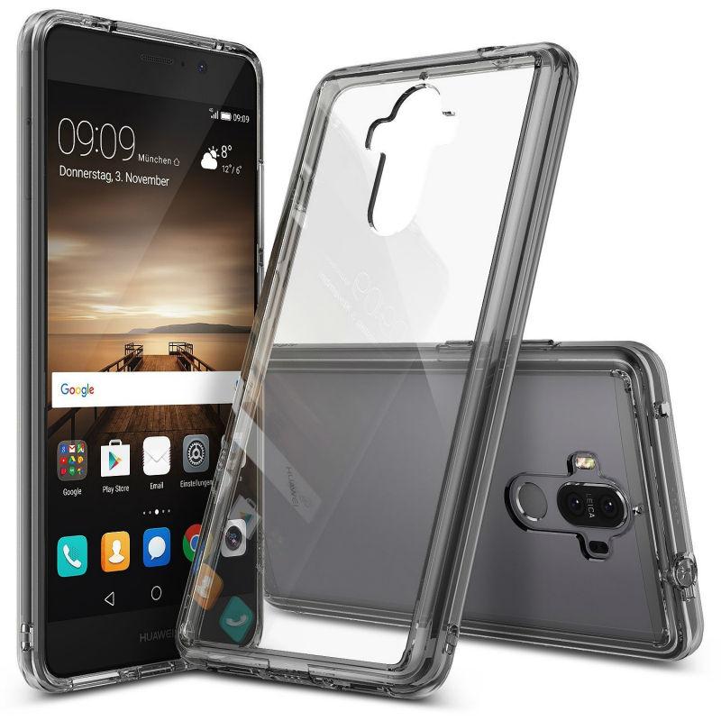 imágenes para Caja Del Teléfono Móvil Para Huawei Mate 9 Caso de Fusión Ringke Para Mate9 Marco de Cristal Claro y Suave Caso Híbrido
