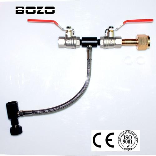 تجهیزات پینت بال pcp airsoft Deluxe Dual Valve CO2 - تیراندازی