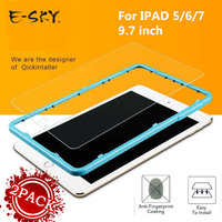2PACK E SKY For Apple IPad 5 6 7 Tempered Glass Film 9H Screen Protector Protective