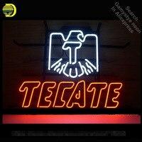 Неоновая вывеска для Cerveza текейт неоновых ламп знак рукоделие Настоящее Стекло трубы украсить гараж комнате свет персонализированные элек