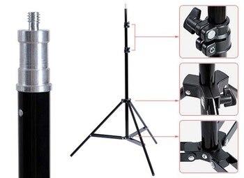 Fotografia Con Illuminazione Continua   Godox 190 Centimetri 6ft SN302 Fotografia Studio Di Illuminazione Photo Light Stand Treppiede Per Flash Strobe Luce Continua