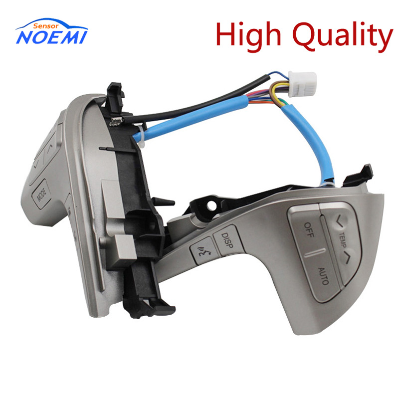 Free Shipping! New Steering Wheel Audio Control Button Switch For Toyota Hilux Vigo Corolla Camry Highlander Innova 84250-06180