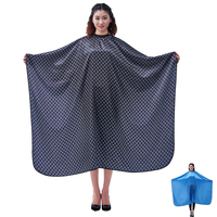 1pcs Pro Hairdressing Apron Hair Cutting Satin Large Cape Barber Styling Salon Camps Hairdresser Wrap G0316