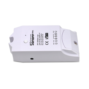 Image 4 - ITEAD SONOFF Dual 2CH 2 Gang Way 10A 220V 16A 3500W WiFi Wireless Smart Switch Light Remote Control DIY Timer Module Alexa Home