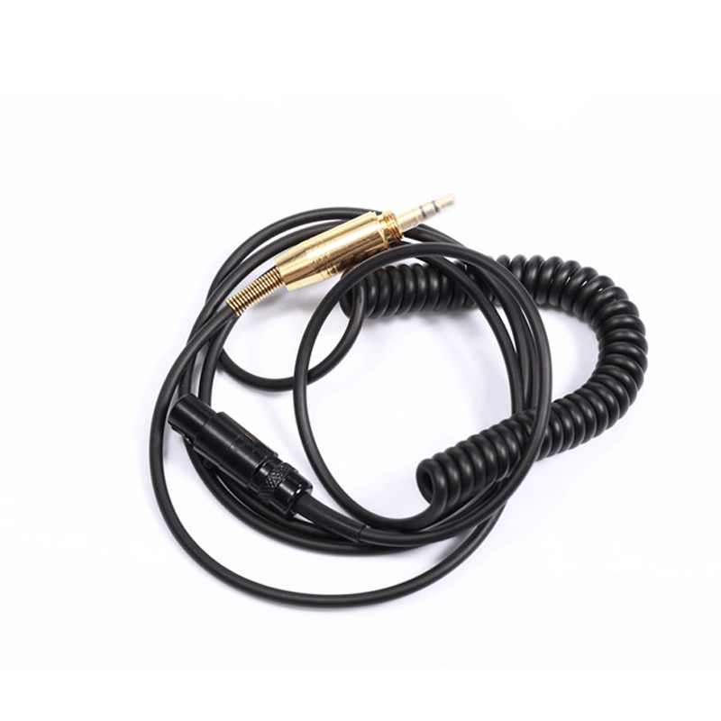 Nowa wiosna kabel słuchawek dla AKG K240 K702 Q701 K271 K267 K712 k550 mkiii zestaw słuchawkowy Audio drutu 6.35/3.5mm męski na Mini XLR