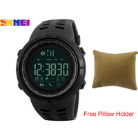 SKMEI1250 Men Smart Watch With Free Pillow Holder Chrono Calories Pedometer Sport Watch Call Reminder Bluetooth Watches Relogios