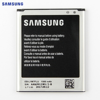 SAMSUNG Original Replacement Battery EB L1M7FLU For Samsung GALAXY S3 Mini I8190N GT I8190 I8190 S3Mini
