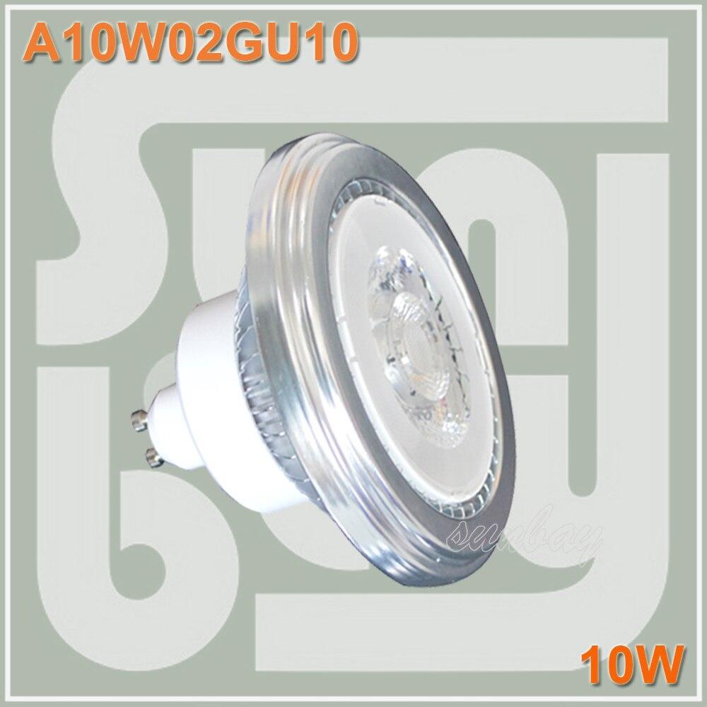 LED AR111 COB BULB GU10 10W 85-265V 1000lm replace to 100W lamp high quality 10 w led ceiling spot light