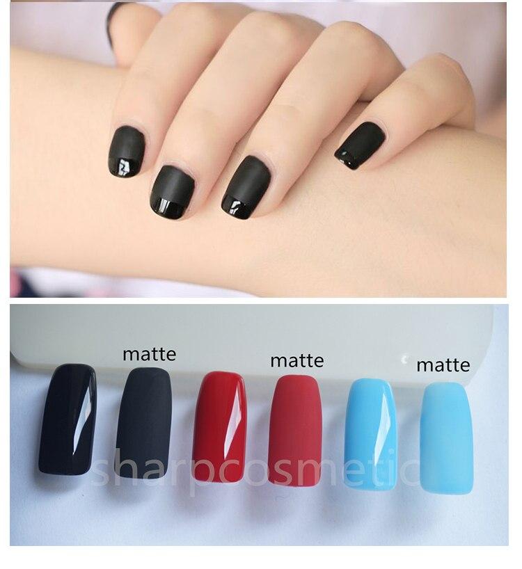 Uv Gel Nail Polish Canni Color Nail Polish Lacquer I Love Matte Top ...