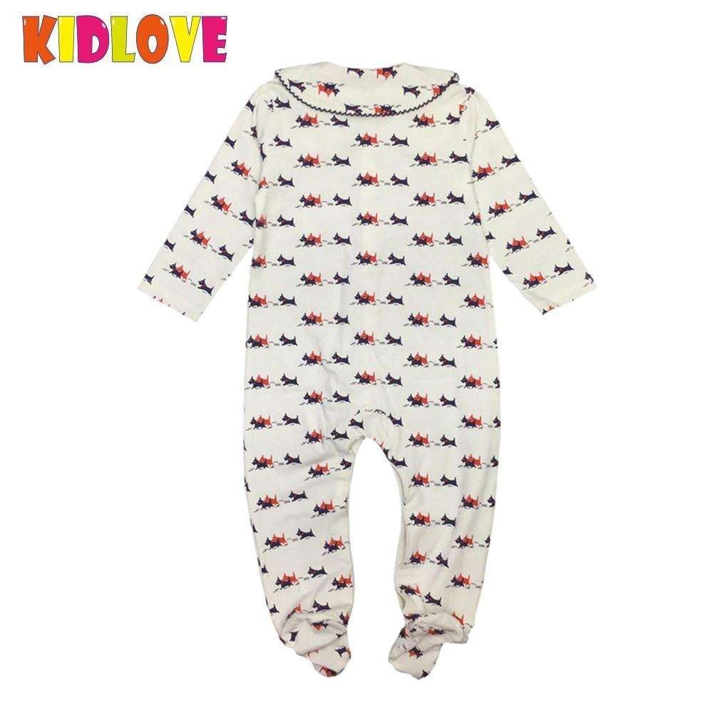 e3804ded6086 Best buy KIDLOVE Newborn Baby Girl Boys Infant Baby Dogs Print Romper  Cotton Long Sleeve Jumpsuit Clothes Cotton Winter Autumn Clothes YL online  cheap