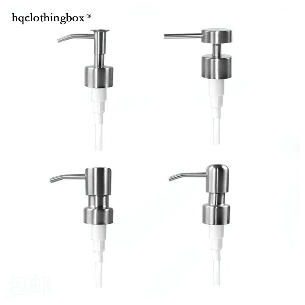 1X DIY Soap Dispenser Pump Head Stainless Steel Replacement Liquor Jars Tube Bottle Bathroom Accessories 904-710