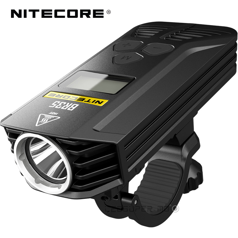 Image 2 - 1800 Lumens Nitecore BR35 CREE XM L2 U2 LED Rechargeable Bike / Bicycle Front Light Built in 6800mAh Battery-in Flashlights & Torches from Lights & Lighting