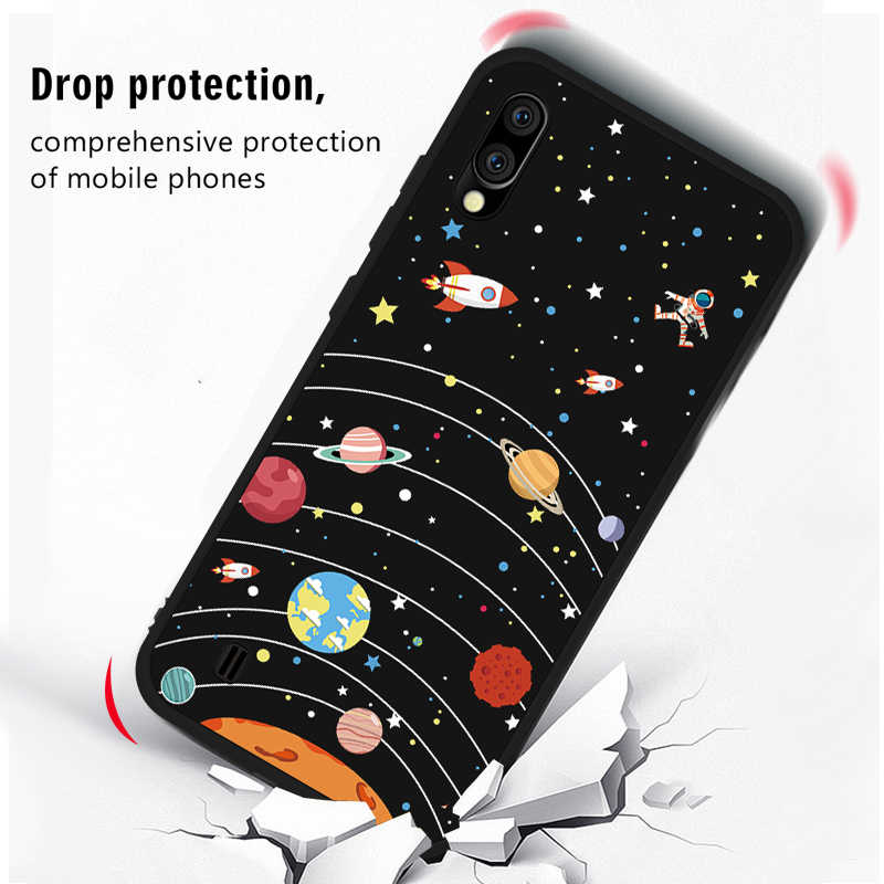 Soft Case Telefone TPU Para Samsung Galaxy S10 Plus S10E S8 S9 Plus M10 M20 M30 A10 A20 A30 A40 A50 A60 A70 S10 Fundas Tampa Da Caixa