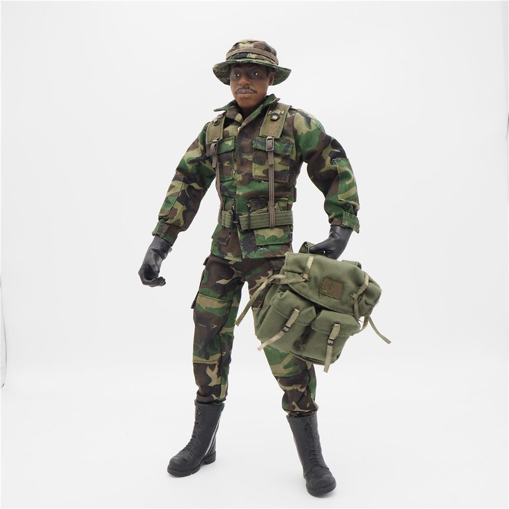 цена 1/6 Scale Accessories Female Clothes Woodland Back Pack Camo Uniforms set For 12