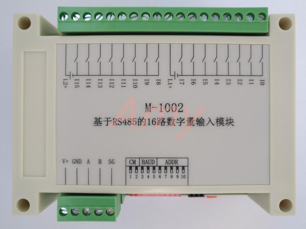 Le collecteur 485 d'entrée de commutateur d'isolement de 16 manières peut être relié au transistor d'entrée de type de fuite de NPN, commutateur photoélectrique.