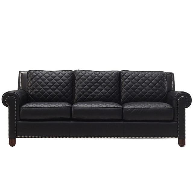 Low Price High Quality Sectional Sofa Leather Modern Italian