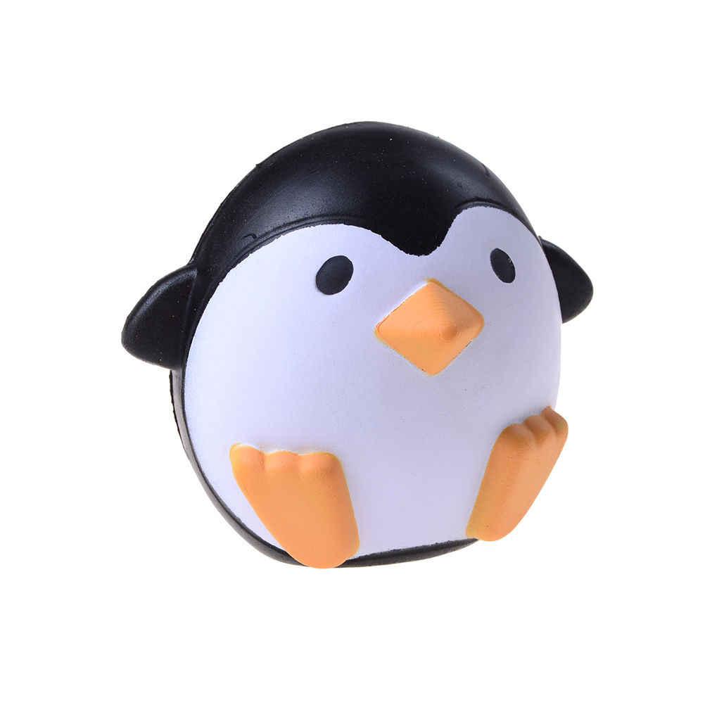 Pizies Jumbo Пингвин милый чехол с животным узором медленно поднимающийся сладкий Ароматические вентиляционные Подвески хлеб торт детская игрушка забавный разрыв игрушка