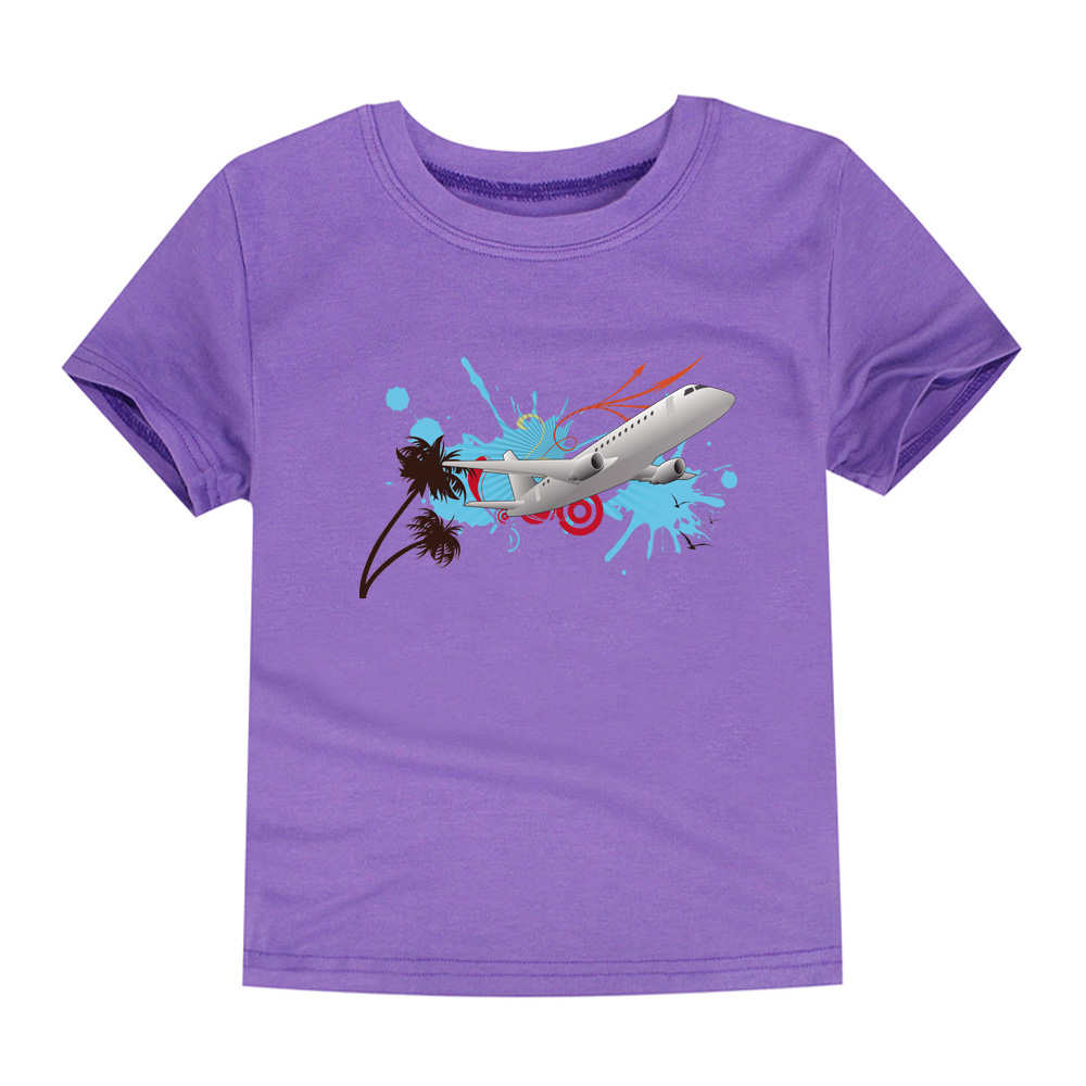 HTB1hZakQVXXXXcZXXXXq6xXFXXXh - CHUNJIAN 2017 children t shirts for girls boys cotton t shirt girls T-Shirt kids t shirts summer Tops & Tees kids plane shirt