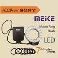 Meike FC-110 LED Macro Ring Flash Light FC110 for Sony DSLR Camera
