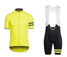 Full sublimation 2016 cycling jersey gel pads quick dry men's summer bike wear