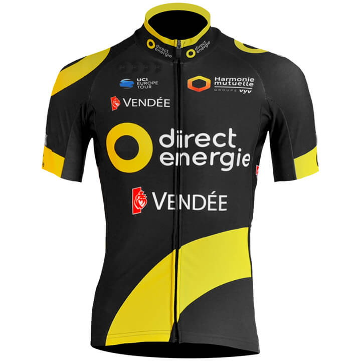 2018 DIRECT ENERGIE Pro Team Men s Only Cycling Jersey Short Sleeve Bicycle  Clothing Quick Dry Riding Bike Ropa Ciclismo-in Cycling Jerseys from Sports  ... 1b1f5897b