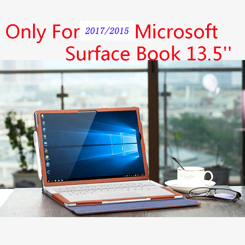 Creative Design Cover For 2017 / 2015 Microsoft Surface Book 13.5'' Tablet Laptop Sleeve Case Detachable Protective Skin Cover image