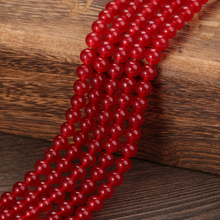 KANGKANG High Quality Natural Stone Red Round Loose Beads 15 Strand 4mm 6mm 8mm 10mm 12 mm DIY charm Bracelet Making Jewelry high quality labradorite natural stone 4mm 6mm 8mm 10mm 12mm beautiful hot sale round loose beads jewelry 15 inch ge5002