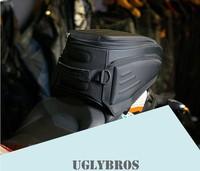 Free shipping Top Fashion Bag Motorcycle Tank Bags New Uglybros Ubb 224 Motorcycle Rear Bag / Road Send Waterproof Cover