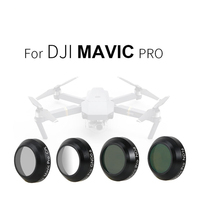 Lens Filters GND0 6 ND8 ND16 CPL Lens For DJI MAVIC Pro Accessories Drone