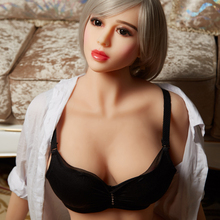 158 CM Life Size TPE Love Doll rubber doll for sex Dolls Big Breast oral/vagina Sexy Lifelike Silicone Sex Dolls
