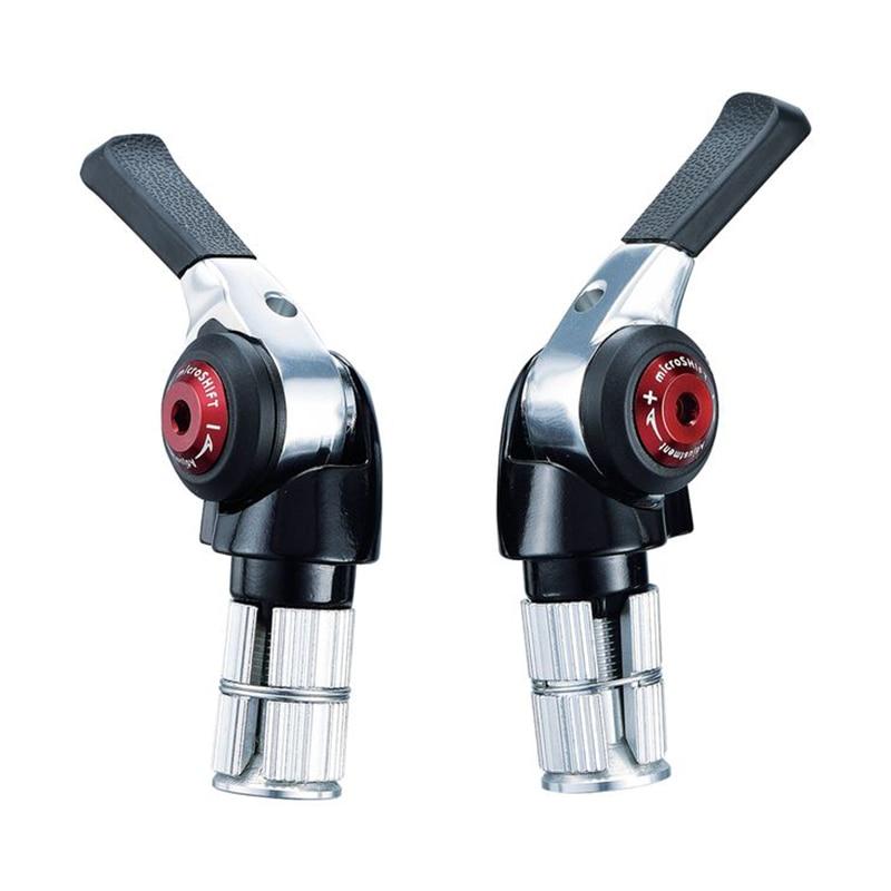 Shimano Compat 11-Speed Mountain Double//Triple microSHIFT Bar End Shifter Set