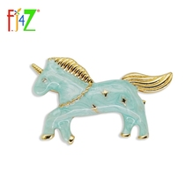 New Arrival Unicorn Clips Fashion Designer Vintage Enamel Animal Hair Clip for Women Jewelry Accessories pinzas