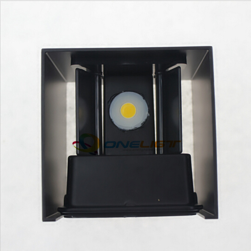 IP65 adjustable surface mounted outdoor cube LED wall ...