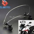Мотоцикл Регулируемый клип-на спойлер лобовое стекло расширение Moto X-Creen для Honda Crosstourer CBR500X NC700X NC750X VFR1200X