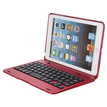 Newest Waterproof Dustproof 2in1 Bluetooth 3.0 Wireless Keyboard Foldable Case Stand Cover Holder for iPad Mini 1 2 3