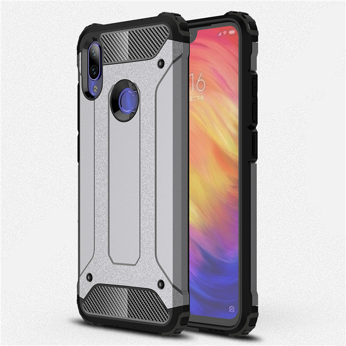 For Xiaomi Redmi Note 7 case Shockproof Armor Rubber Silicone Hard Back Cover Case for Redmi Note 7 Pro Note7 Protective Case redmi note 7 pro cover