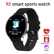 R5 Smart Watch Sports Bracelet Medical Level Monitoring Blood Oxygen Heart Rate Variability Multi-Function Meter Step