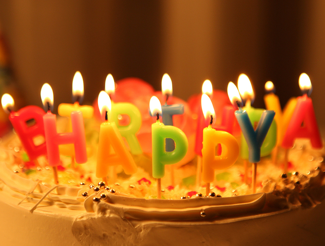 13pcslot Multi Color Happy Birthdayletter Candle Cake Letter