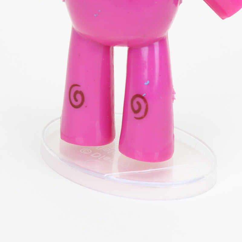 5 pçs/set Pássaro Sonolento Pocoyo Elly pato Loula Pocoyo Figura PVC Figuras de Ação Collectible Modelo Toy Boneca Crianças Presentes de Natal