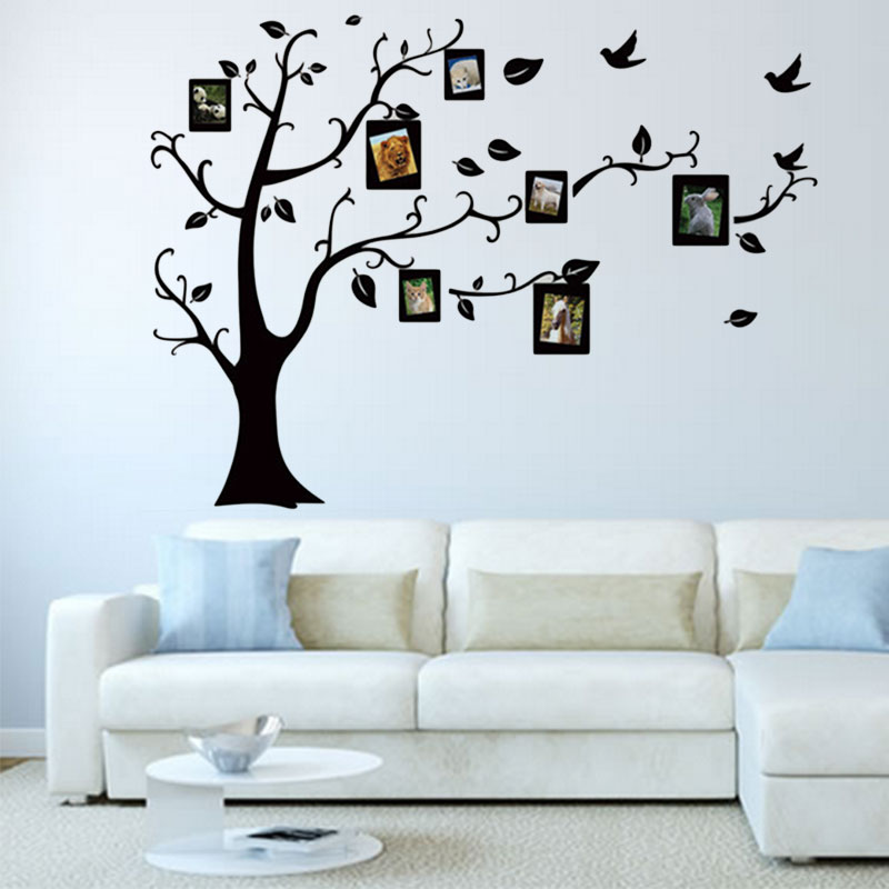 Removable Diy Creative Wall Stickers Tree Beautiful Photos For Your - Beautiful-wall-stickers-to-decorate-your-house
