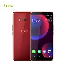 Оригинальный HTC u11 глаза 4 г LTE мобильный телефон 4 ГБ Встроенная память 64 г Оперативная память Snapdragon 652 Octa Core 6.0 дюймов NFC IP67 Водонепроницаемый