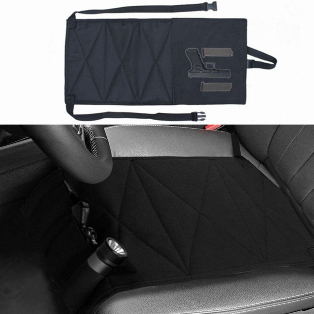 Hunting Bag Nylon Concealed Car Seat Pistol Holster & Mattress Bed Hand Gun Holder Holster Hidden Holster For Car Seat Gun Case