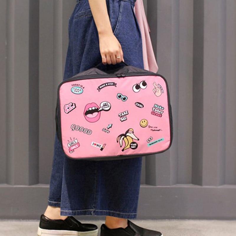 Large Capacity Organizer Bag Portable Bathroom Storage Clothing Underwear Storage Bag Travel Accessories Trolley Case Pouch