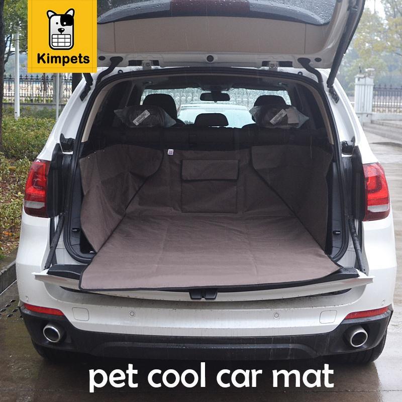 2017 High quality suppliers pet mat trunk is special pet mat for car pet cool Oxford mat Dogs car pad Waterproof car mat pads